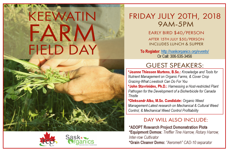 Chapter 4 – Keewatin Field Day
