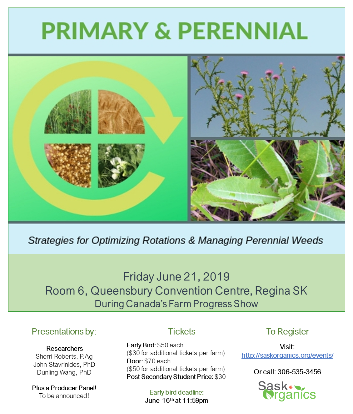 Primary & Perennial-Production Workshop